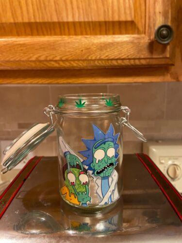 Rick and Morty custom stash jar
