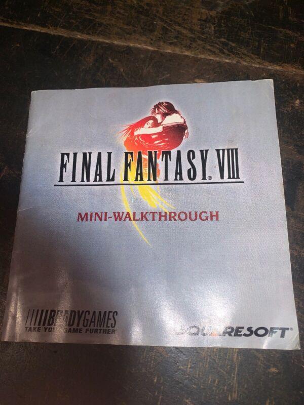 Final Fantasy VII Mini Walk-Through Pamphlet 2000