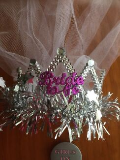 Bride To Be, Hens Night, Headpiece (NEW)