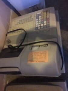 Casio cash register with cash drawer