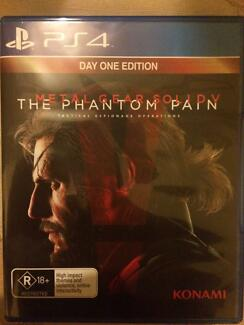 Metal Gear Solid V Phanton Pain PS4 Macquarie Fields Campbelltown Area Preview
