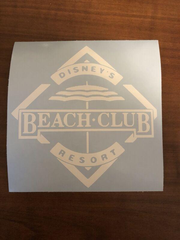 Disney Vacation Club Beach Club Resort Decal DVC Disney World U PICK COLOR