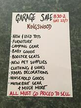 Garage Sale Sat 23/7/16. 8:30-2 no early birds Kingswood Penrith Area Preview