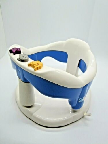 AQUABABY THERMOBABY White/ Blue Infant Baby Safety Bath Seat