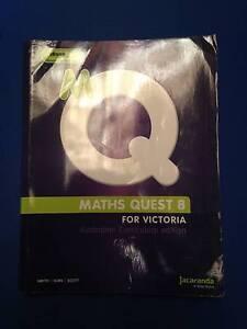 Maths Quest 8 For Victoria Australian Curriculum edition Keysborough Greater Dandenong Preview
