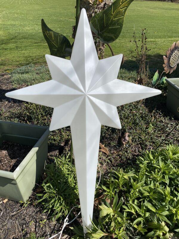"Union Star Of Bethlehem Blow Mold 39"" w/light Nativity"