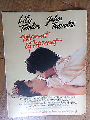 1978 Movie Ad Mement by Moment Lily Tomlin & John Travolta