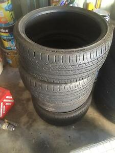4 HERCULES low profile tyres 215/35ZR18 Alexandra Hills Redland Area Preview