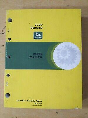 John Deere 7700 Combine Parts Catalog