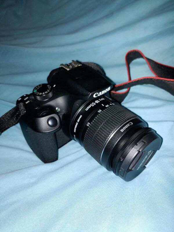 Canon EOS Rebel T6 Digital SLR Camera(18-55 mm lens) With Extra Accessories