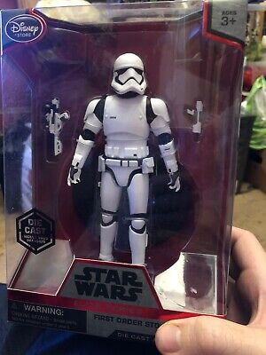 Star WarsFirst Order Stormtrooper - Disney Elite Series Die-Cast Figure New