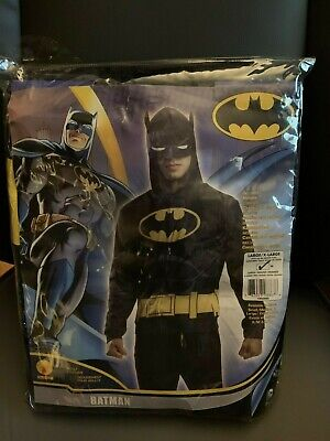 New Batman Adult Size L/XL Hoodie Costume