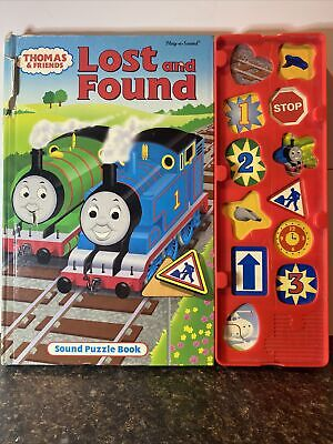 Play-a-sound Puzzle Book Thomas The Train & Friends 'Lost And Found' (batteries)