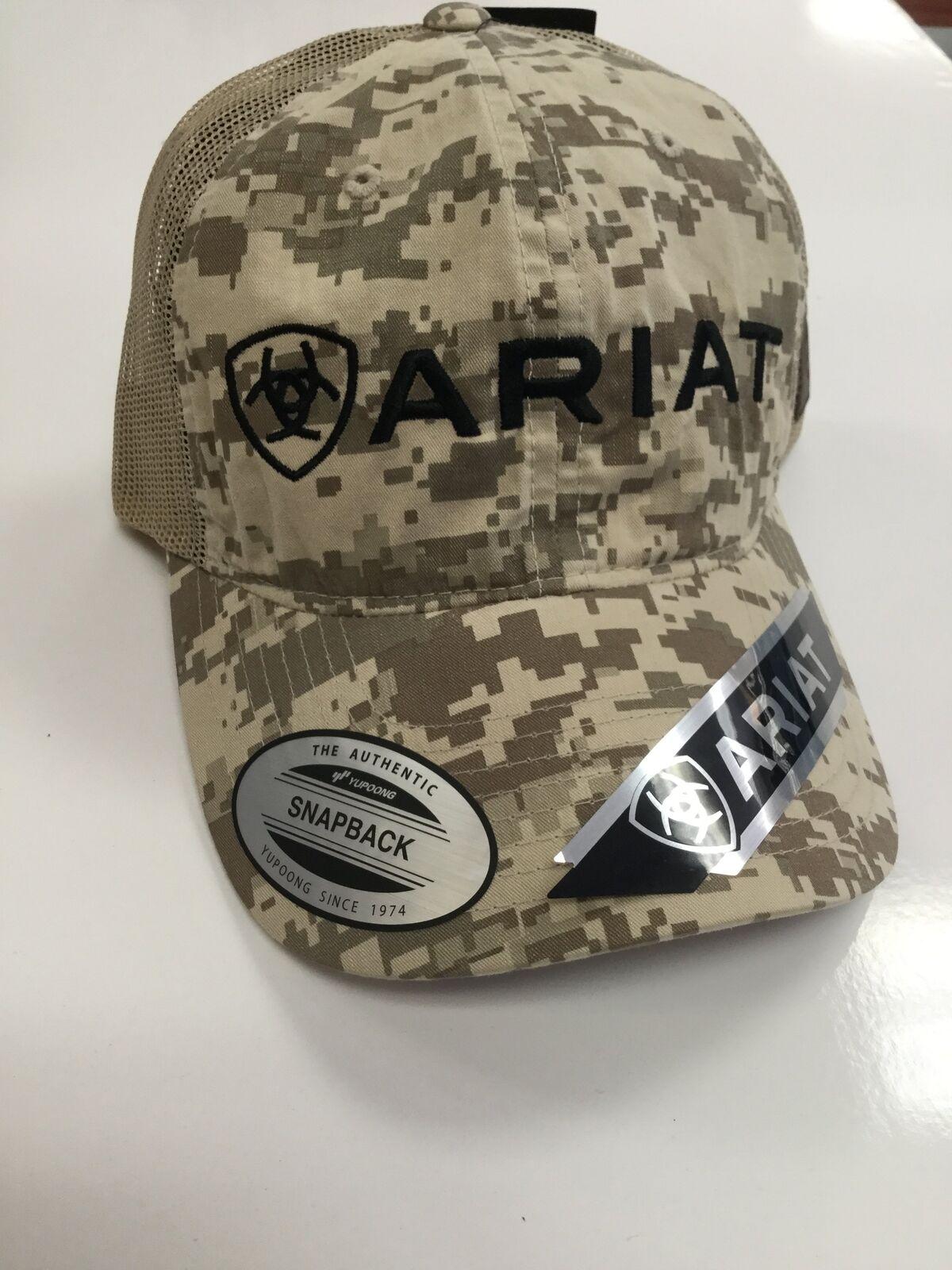 bfcbf3d2d28fe Ariat Mens Digital Camo Ball Cap A3000009156 for sale online