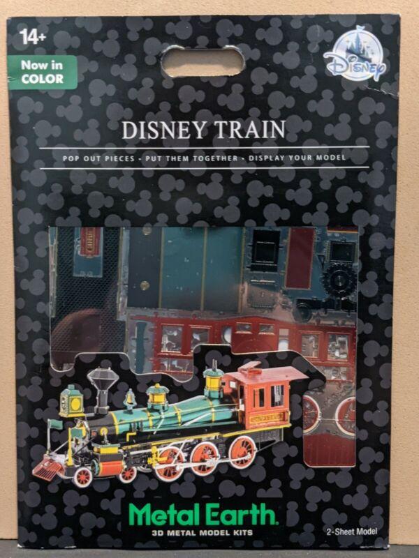 Disney Parks Disney Train In Color Metal Earth 3D Model Kit - NEW
