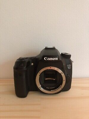 Canon EOS 70D 20.2MP Digital SLR Camera - Black (Body Only) - 8469B002