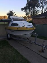 Fibreglass boat 120hp Campbelltown Campbelltown Area Preview