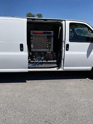 2010 Chevrolet Express 2500 Extended Truckmount Carpet Cleaning Van