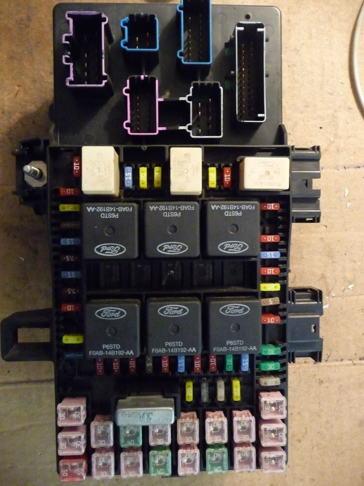 """2004 FORD EXPEDITION LINCOLN NAVIGATOR BCM FUSE BOX """"UNIT REPAIR SERVICE"""""""