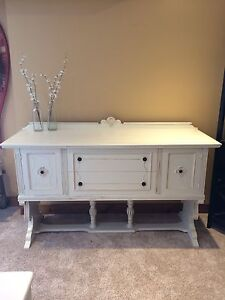 Beautiful refinished antique sideboard