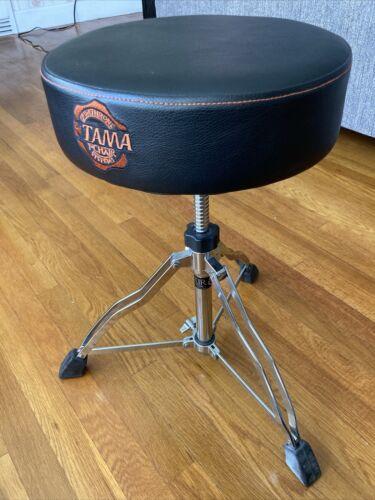 Tama 1st Chair Round Rider Trio Drum Throne. Ex. Used Condition. Black  - $100.00