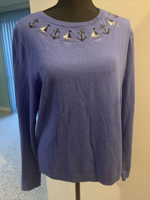 Talbots Sweater Large NWT