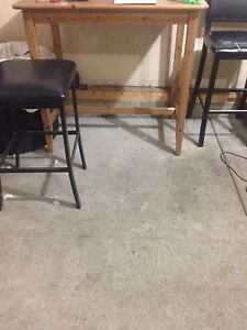 High table x 4 chairs