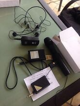 Microphones and speaker for sale Fletcher Newcastle Area Preview