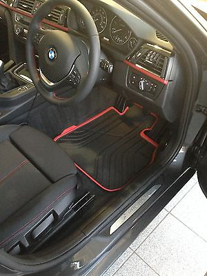 BMW 3 SERIES FRONT SPORT MATS F30 F31 51472339780 RUBBER LLOYD BMW CARLISLE