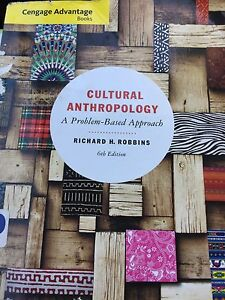 Cultural Anthropology textbook!