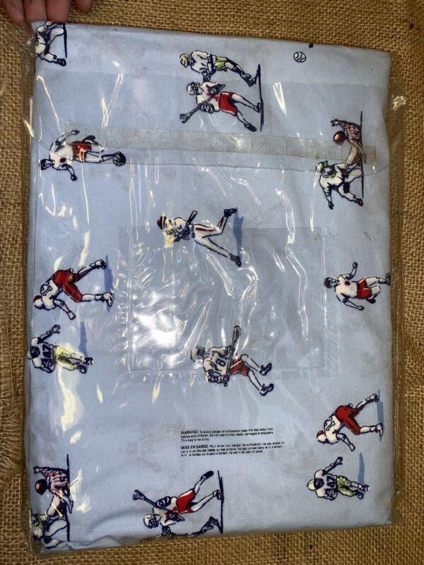 Pottery Barn Toddler Sports Hockey Football Soccer Baseball Duvet Cover