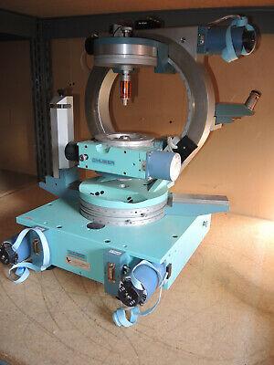 Huber Diffractometer Eulerian Cradle 2-circle Goniometer Collimators Microscope