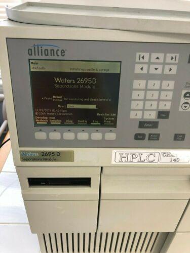 Waters Alliance 2695 D Separations Module 140 channels