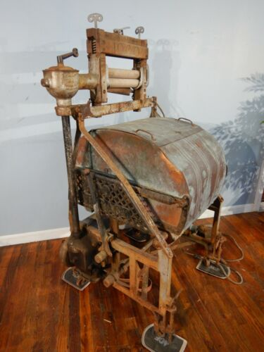 Vintage Cataract Copper Washing Machine Early 1900