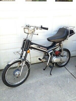 "1982 Honda Urban Express NU50 moped ""Not-Running Project bike-Read Description"""