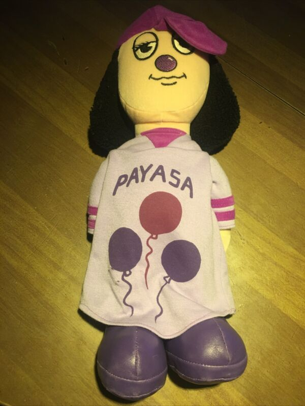 """Preloved Mijos 2001 Payasa Collectible Plush Doll 17"""" Look At Pictures."""