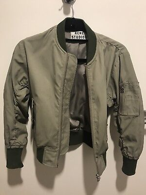 Acne Studios Bomber Jacket For Women In Size 32