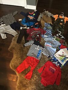 All brand new baby boy clothes 6-12 months