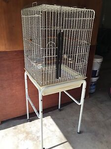 Large Bird Cage With Stand Medowie Port Stephens Area Preview