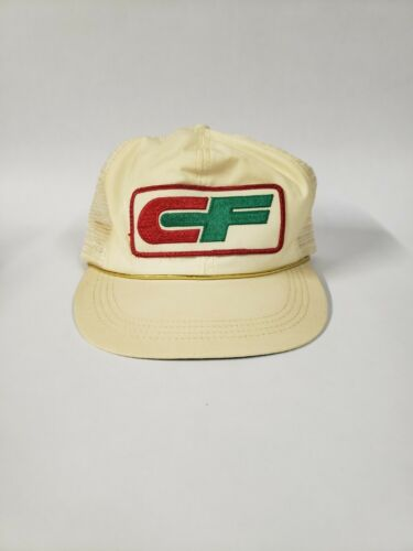 Vintage CF Patch Snap back Trucker Hat