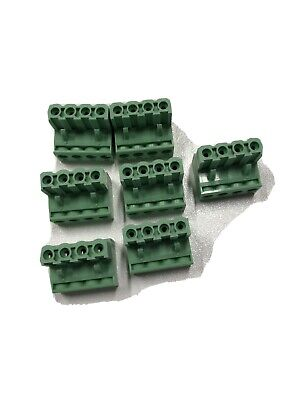 7 - 5.08mm Female Socket Pcb Screw Terminal Block 4 Port