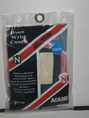 "(1) WCY-61 Neumann Youth Wrist Coach Triple Compartment 2.5""x3.5"""
