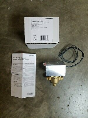 Honeywell. V4044a1019u. Electric 3 Way Zone Valve. 120 Vac. 12 Sweat. New.