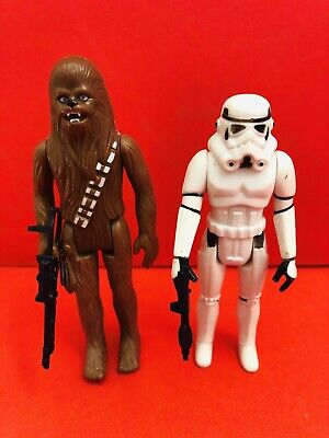 Original Weapon Vintage Star Wars Figures Chewbacca Stormtrooper Kenner Palitoy