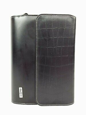 Franklin Covey Day One 6-ring Black Faux Leather Planner Style 762205