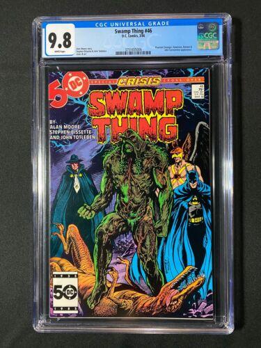 Swamp Thing #46 CGC 9.8 (1986) - Hawkman & Batman app
