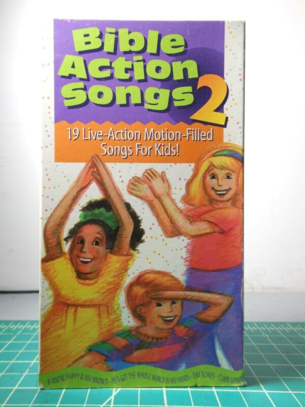 Bible Action Songs Volume 2 (VHS, 1997)