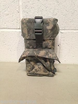 NEW US MILITARY ARMY ACU PADDED OPTICAL SCOPE DUMP AMMO POUCH MOLLE