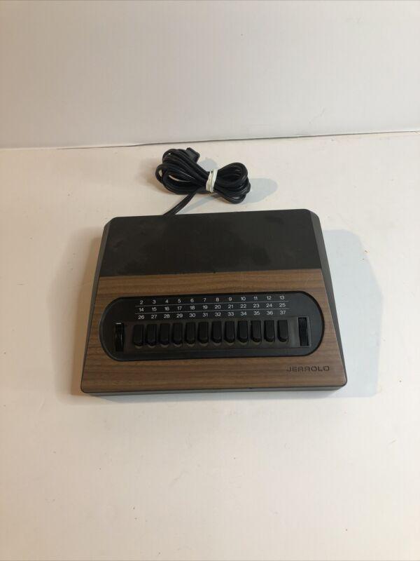 Vintage Jerrold Cable Converter Box CATV JSX-3 General Instrument (Untested) NOS