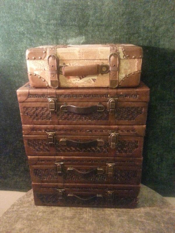 Studio Hollywood Photo Prop Home Decor Suitcases